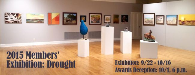 2015 Members' Exhibition: Drought Award Reception