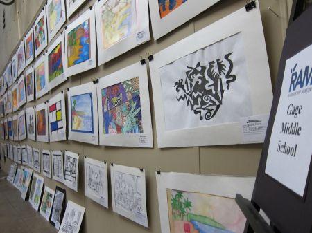 RUSD Middle School Art Contest