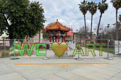 We Heart Art Installation