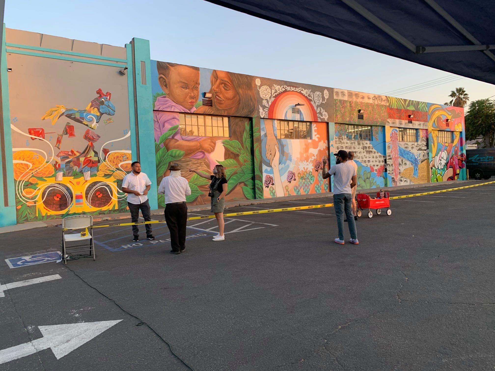 Eastside Artfest Mural Reveal 2020